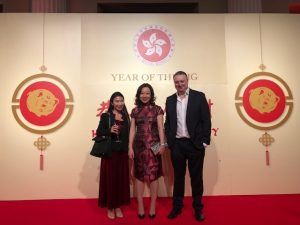 Daniel Taylor of Taylor Hampton Solicitors at the Chinese New Year Celebrations
