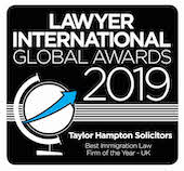 The Lawyer international Global Awards 2019 - Best Immigration Law Firm 2019