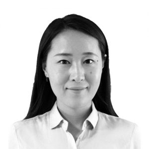Black white photograph of Fanru Qi Taylor Hampton Solicitors' Immigration Lawyer