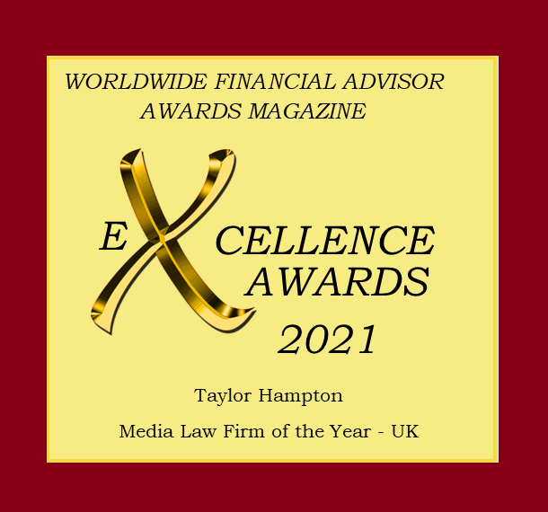 Badge of excellence Taylor Hampton